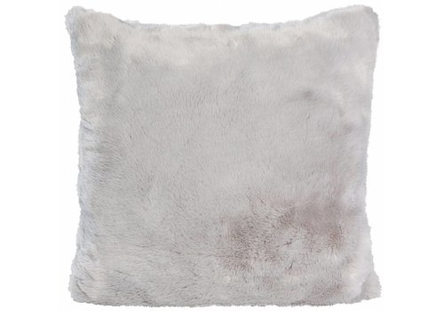 Winter-Home Fellkissen - Seal Silvergrey