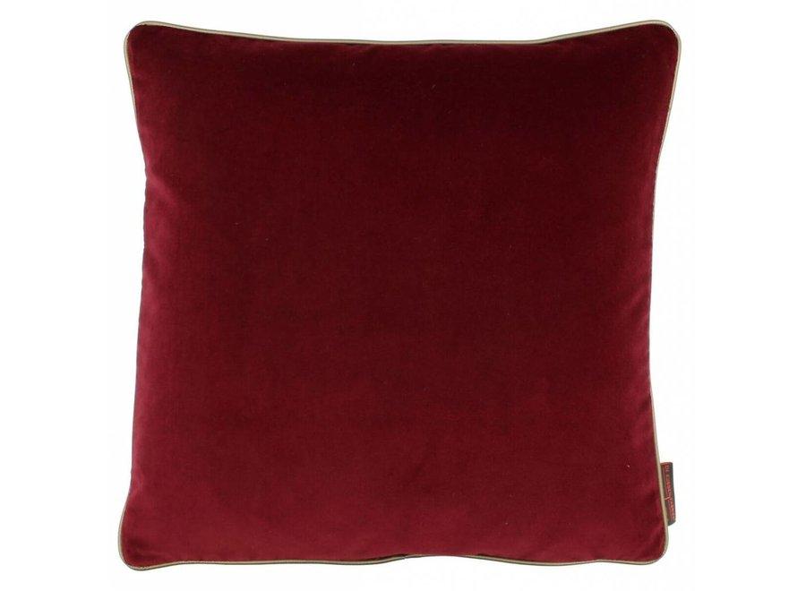 Kussen Saffi Dark Red