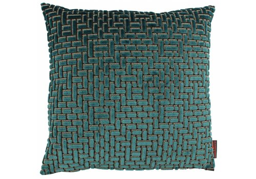 CLAUDI Cushion Ebbe Petrol