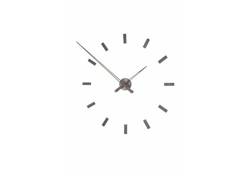 Nomon Large wall clock 'Tacón Graphite t'