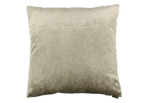 CLAUDI Chique throw pillow Esta sand