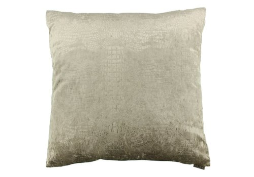 CLAUDI throw pillow Esta sand