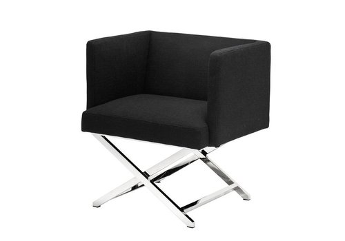 EICHHOLTZ Chair 'Dawson' Panama Black