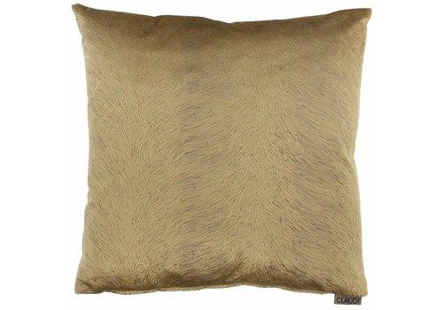 CLAUDI Chique Cushion Perla Camel