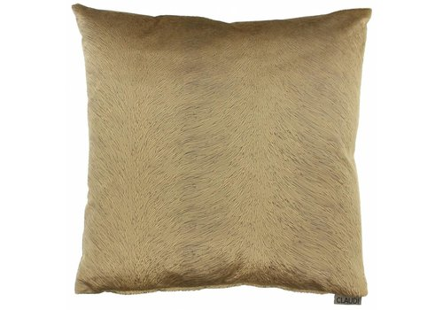 CLAUDI Cushion Perla Camel