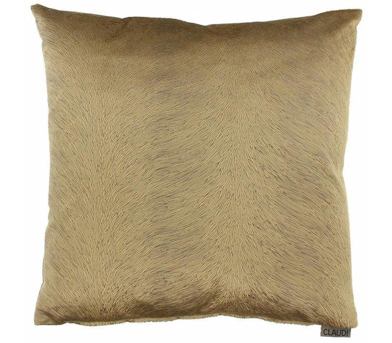 Cushion Perla color Camel