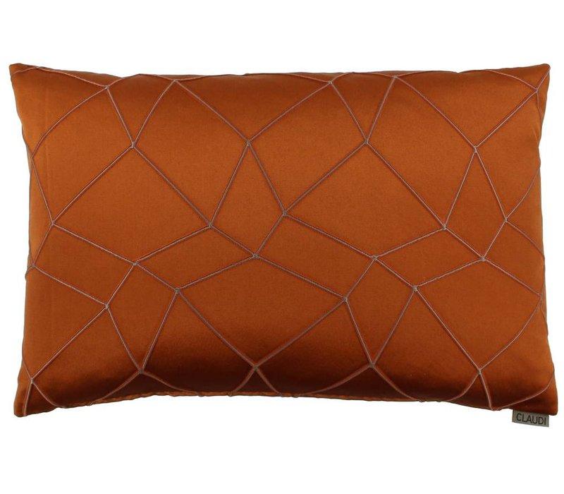 Cushion Christiano color Burned Orange
