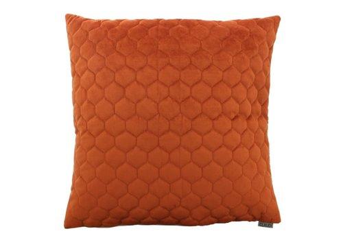 CLAUDI Throw pillow Adrina Rust