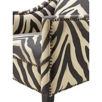 Chair 'Jenner' Zebra Print
