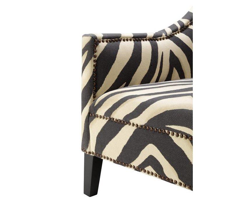 Bureaustoel Met Zebraprint.Eichholtz Fauteuil Jenner Zebra Print