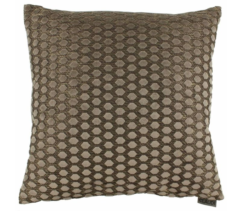 Cushion Sergio in color Brown