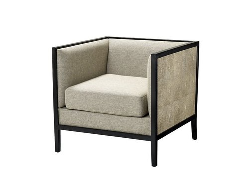 Eichholtz Chair 'Lauriston' Grey Shagreen