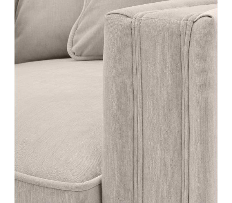 Stone Grey Armchair 'Menorca'