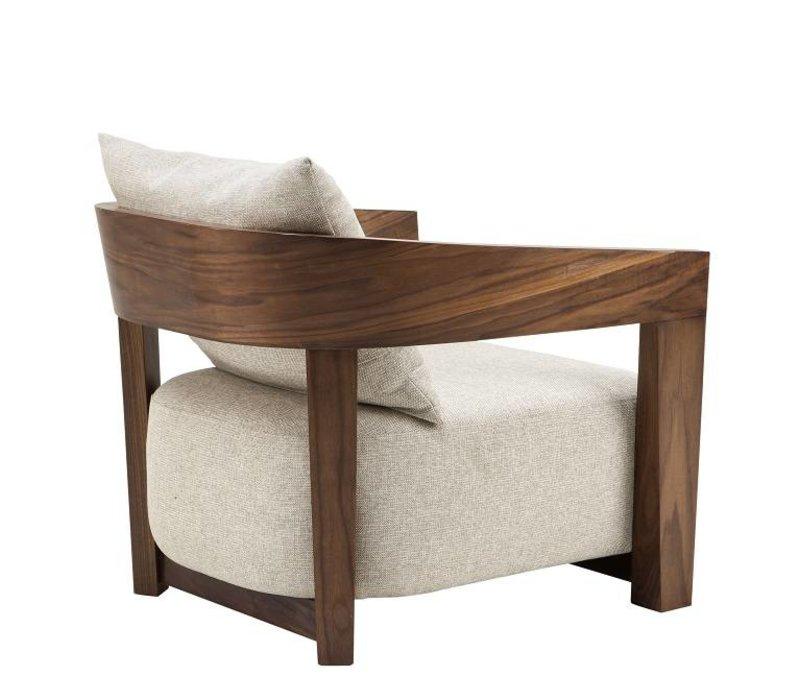Loki Natural armchair 'Rubautelli'