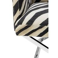 Sessel 'Dawson' Zebra Print