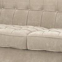Sofa 'Aldgate' Greige Velvet