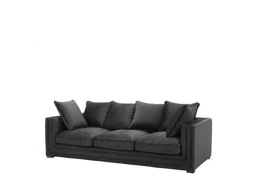 Eichholtz Sofa 'Menorca' Jet Black