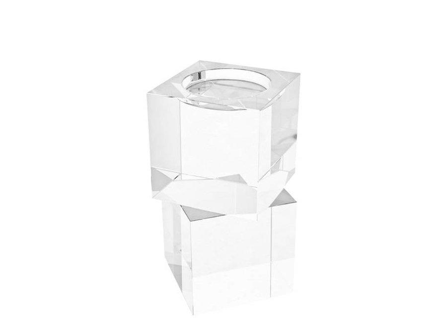 Kristalglas kandelaar 'Wyndham S/2'