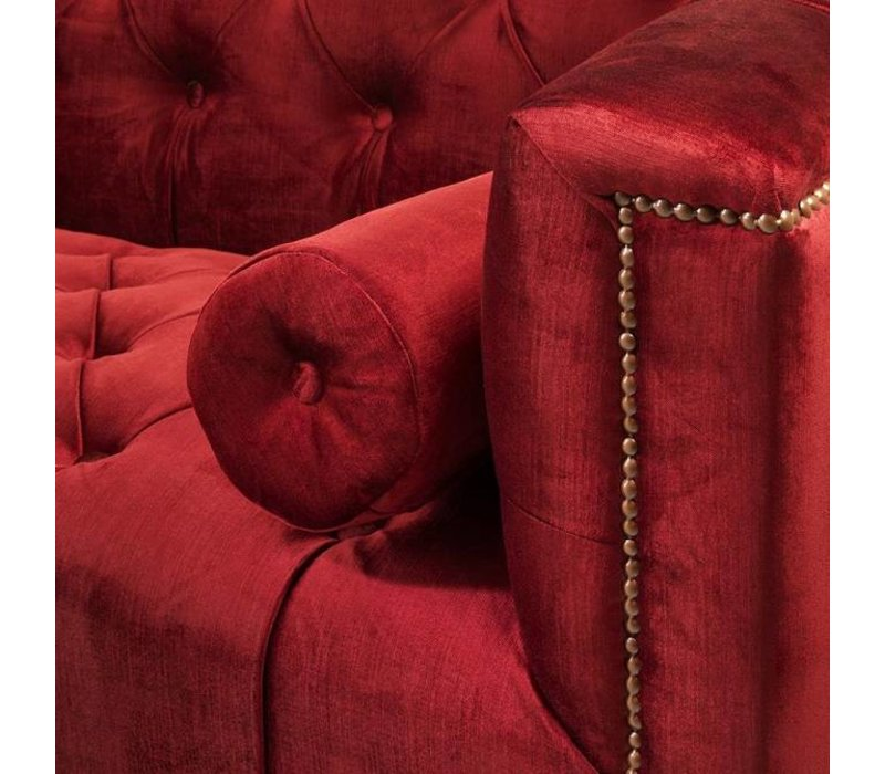 Sofa 'Paolo' Essex Red