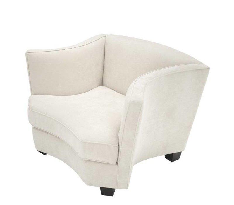 Chair 'Giulietta' Ecru Velvet