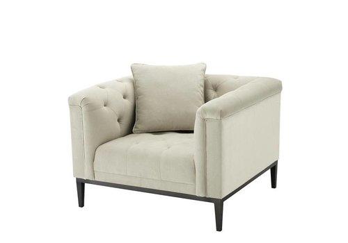 EICHHOLTZ Chair 'Cesare' Pebble Grey
