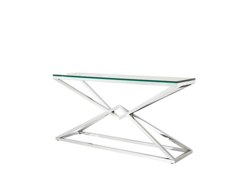 Eichholtz Glass Console table - Connor