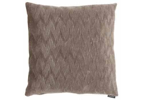 CLAUDI Throw pillow Rachele Taupe