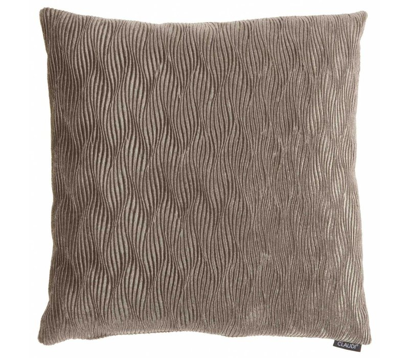 Throw Pillow Rachele Color Taupe