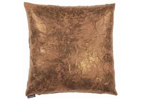 CLAUDI Chique Throw pillow Naomi Copper