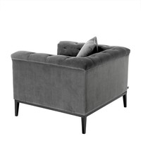 Chair 'Cesare' Granite Grey