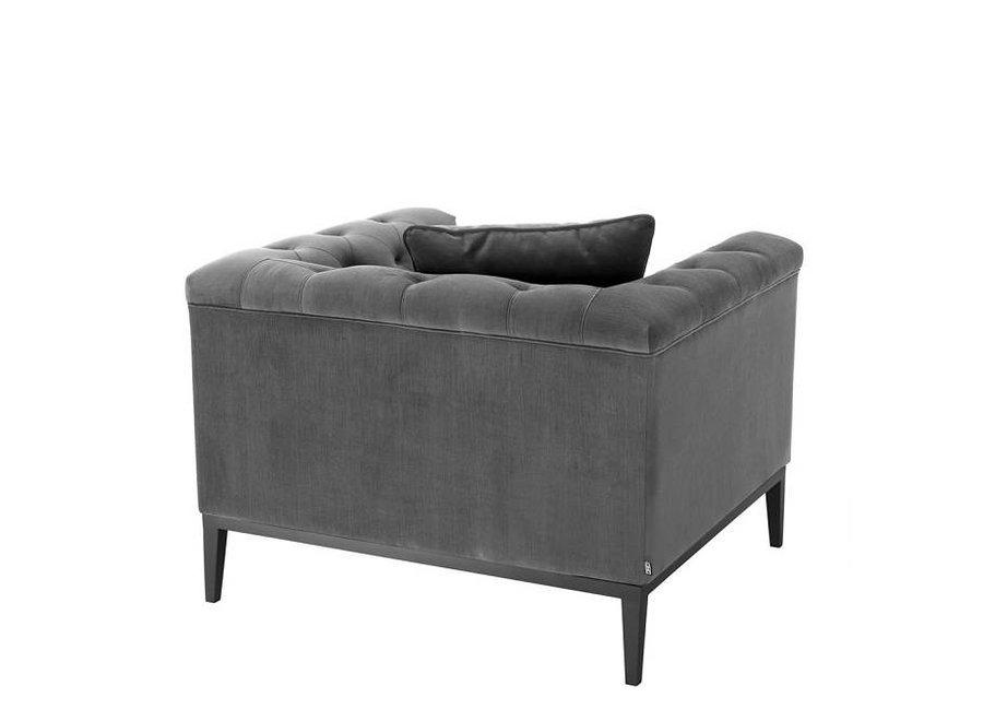 Fauteuil 'Cesare' Granite Grey