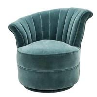 Chair 'Aero Left' Cameron Deep Turquoise