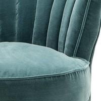 Sessel 'Aero Left' Cameron Deep Turquoise