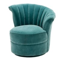 Sessel 'Areo Right' Cameron Deep Turquoise