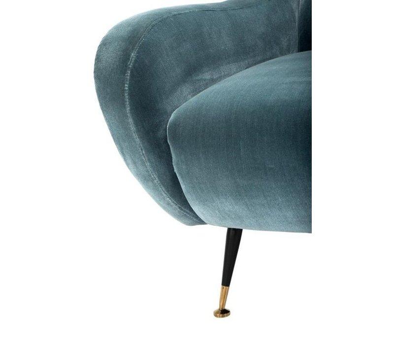 Cameron Deep Turquoise Armchair 'Giardino'