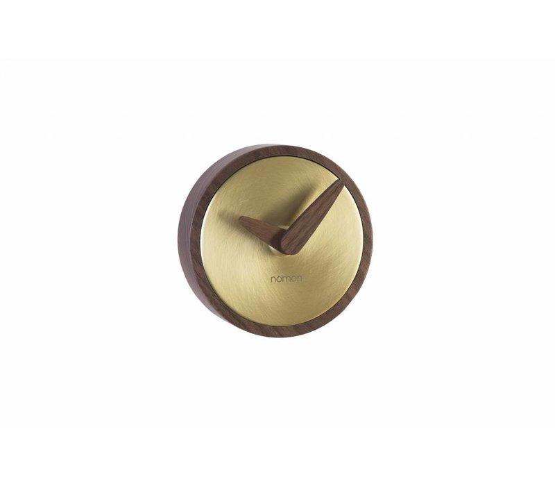 Wall clock Atomo Paredin the color gold