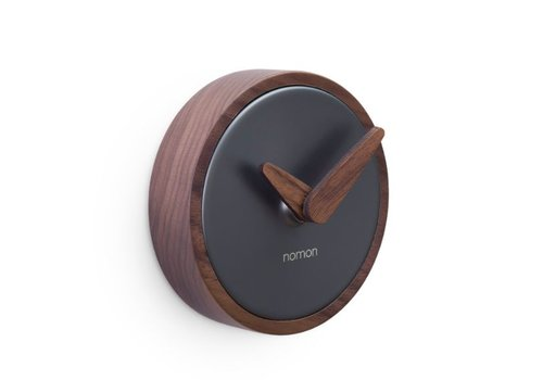 Nomon Wall clock 'Atomo Pared' graphite