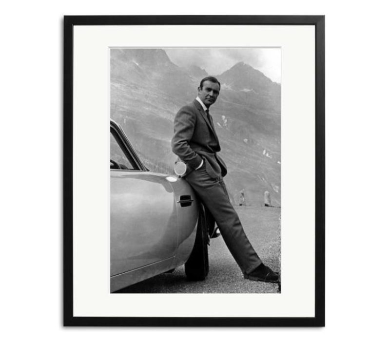 Sean Connery James Bond framed picture