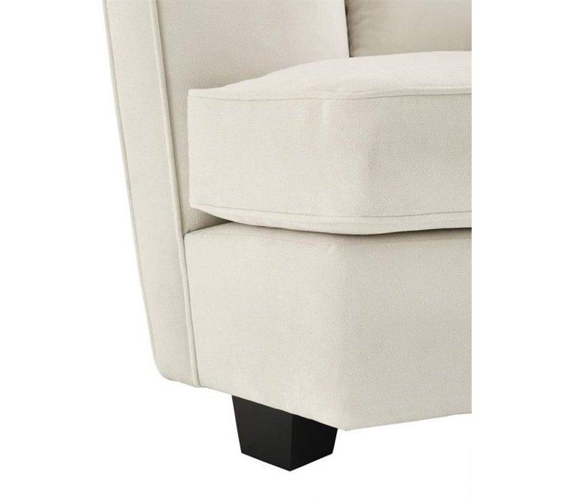 Sofa 'Giulietta' Ecru Velvet Two Seater