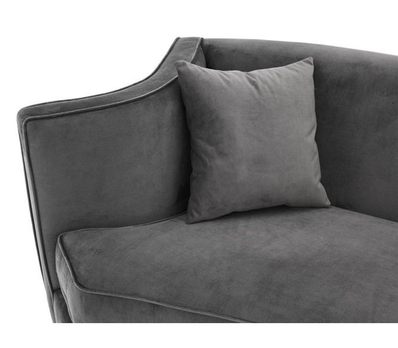 Granite Grey Sofa 'Giulietta'