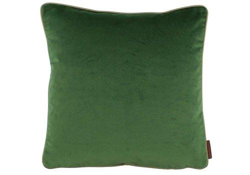 CLAUDI Kussen Saffi Dark Green