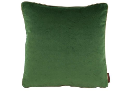 CLAUDI Zierkissen Saffi Dark Green