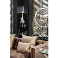 Decoratie 'Globe' maat S is 29cm hoog.