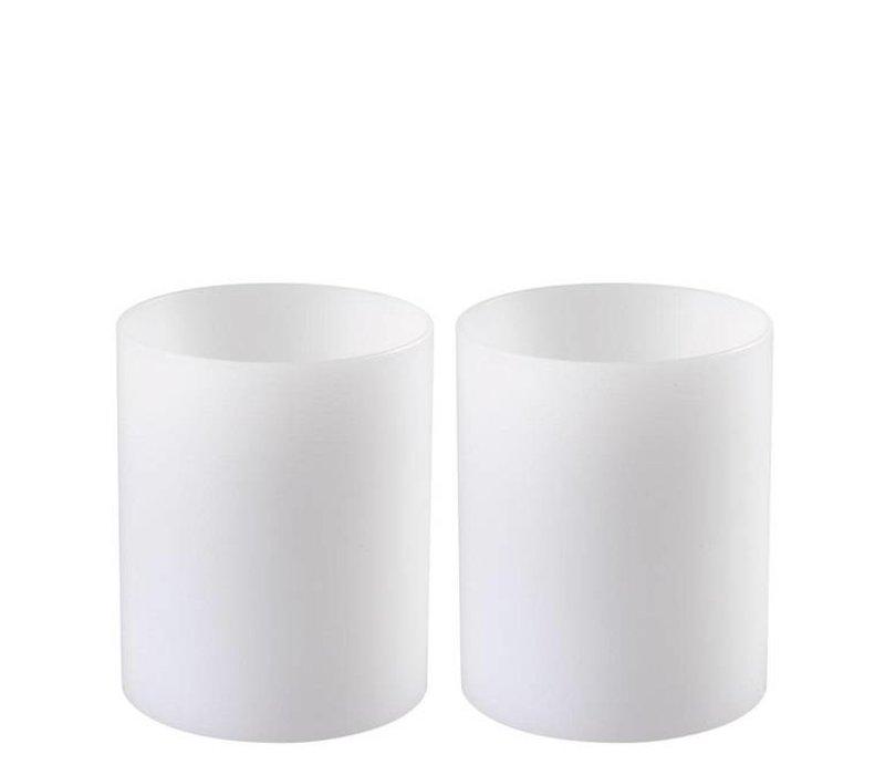 Kerzenständer  'Artificial Candle deep set of 2 Small'