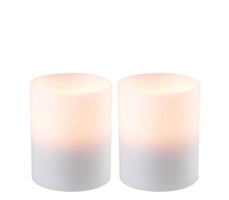 Kaarsen set  'Artificial Candle deep set of 2 Small'