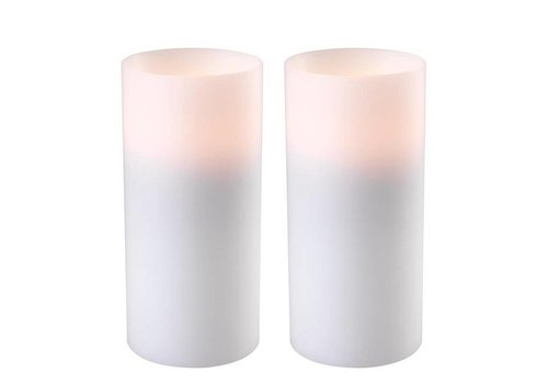 EICHHOLTZ Kerzenständer 'Artificial Candle deep set of 2 Large'