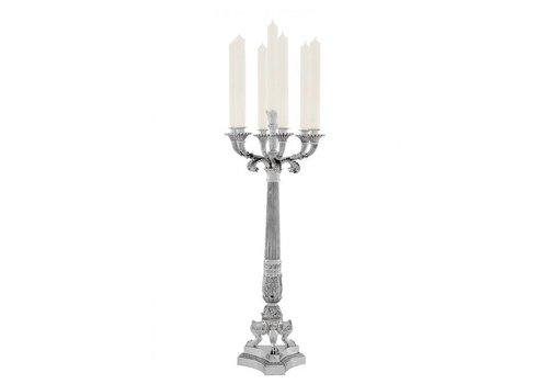 Eichholtz Candle Holder 'Jefferson Silver'