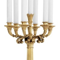 The 'Jefferson Polished Brass' candlestick