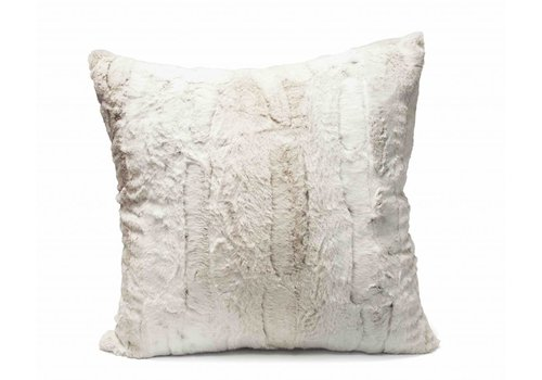 Dome Deco Fur cushion Aldo Cream