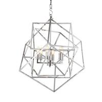 Hanglamp Lantern Matrix, maat 70,5 x 70,5 x H. 78 cm